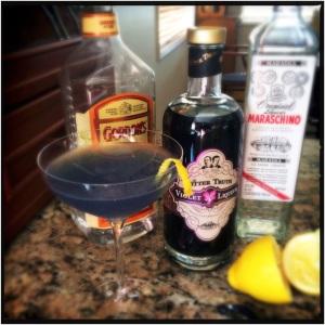 Violet Liqueur 4