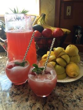 Raspberry Lemonade 1