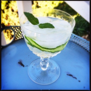 Cucumber Cocktail 2
