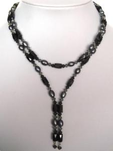 black-pearl-and-swarovski-crystal-magnetic-wrap-necklace